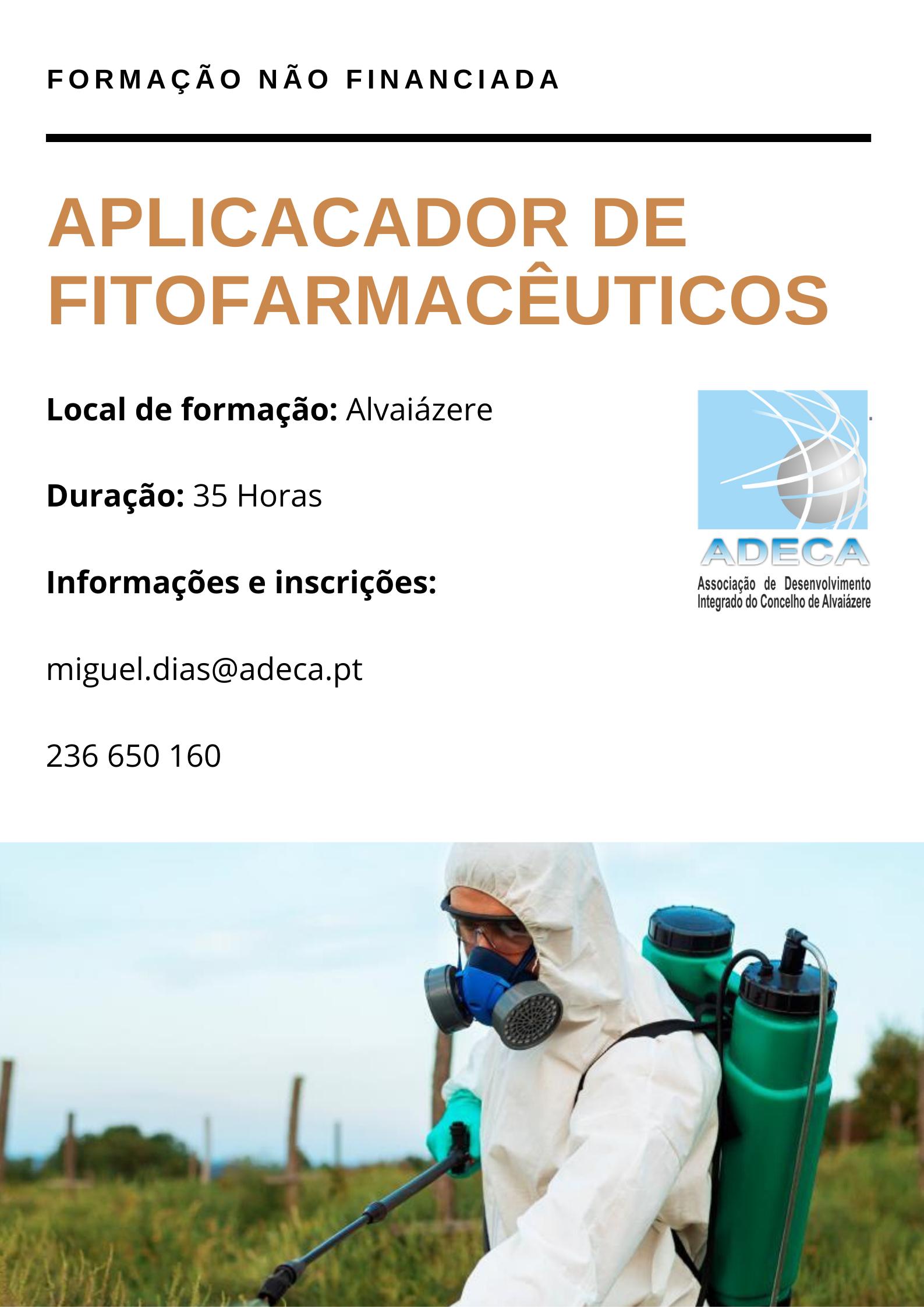 Aplicador de fitofarmacêuticos